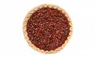 Salted bourbon pecan pie