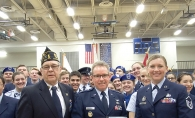 Members of Woodbury's American Legion Post 501