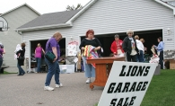 Woodbury's city-wide garage sale.