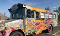 The SoWashCo Cares Skoolie Bus