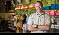 Eric Morley of Big Frog Custom T-Shirts & More in City Centre East.