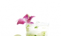 A cucumber splash cocktail from CRAVE