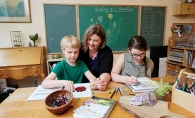 Amy Marotz teachers her children, who are both homeschooled. Marotz formed a nonpublic school in Minnesota to teach her and other children.