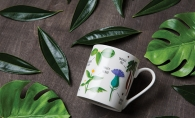 A garden-themed mug from Patina