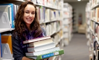 Woodbury High School senior Rachel Veenbaas at Inver Hills Community College.