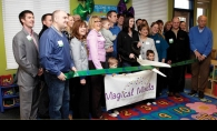 The chamber ambassadors hosted an April 3 ribbon-cutting at Magical Minds Childcare and Learning Center.