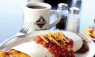 The New Woodbury Café's Tex Mex is a local breakfast favorite.