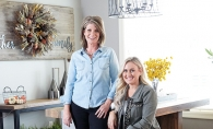Shannon Knutson and Brittany Meidinger, the owners of local interior design firm Twigg + Lu.
