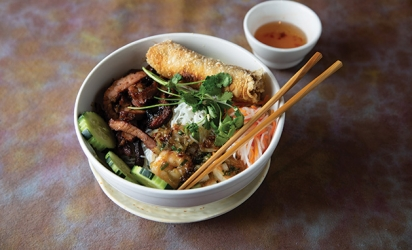 A dish from Viet Cajun & Noodles