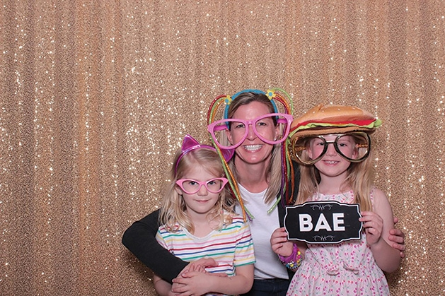 Teagan, Melissa and Elin Leabo at the Family Achievement Center Awards Day