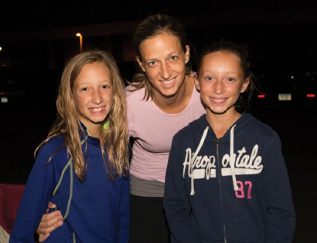 Alison, Juliana and Lily Nohner