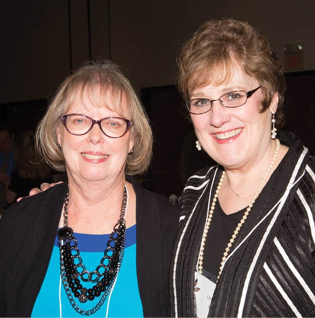 Barbara Norell and Lenore Weir