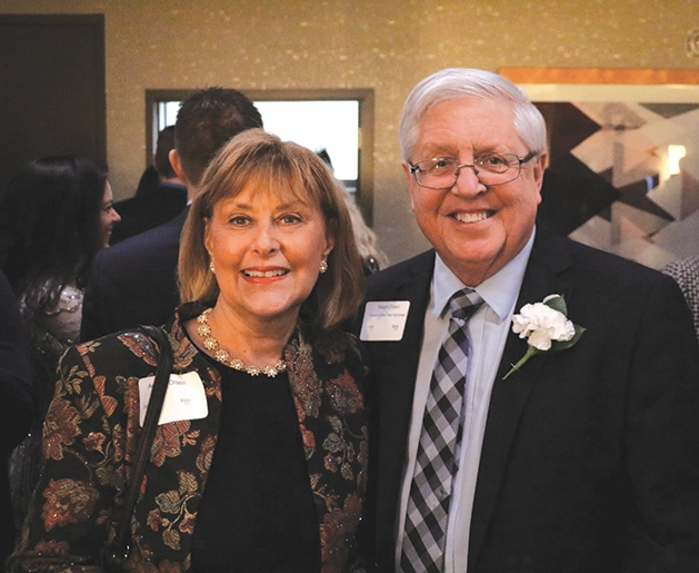 Citizen Nominee Ralph Olsen and wife
