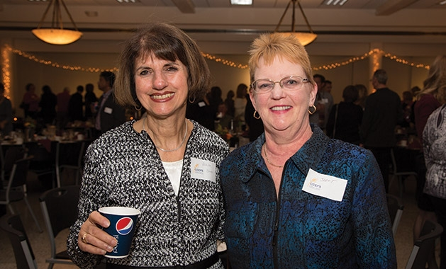Helen Brom and Janet Jacobsen