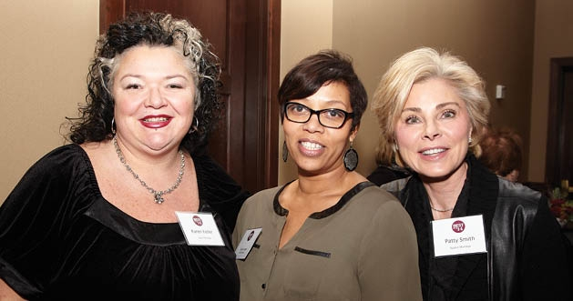Karen Keller, Laurie Ludwig and Patty Smith