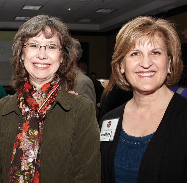 Betsy Strand and Debbie Musser
