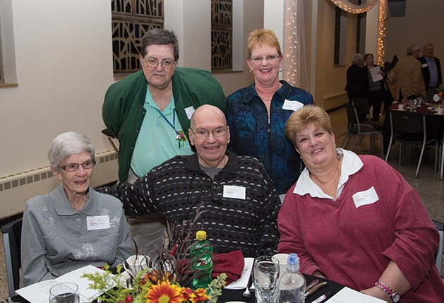 Mike and Janet Jacobsen, Arlet and Sam Bergup and Judy Wertheimer