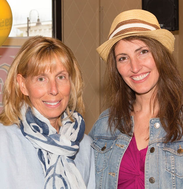 Peggy Weller and Holly Bradford