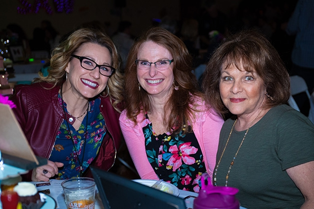 Lori Sager, Colleen Wenzel, Tami Stauffacher at St. Ambrose of Woodbury's Spring Shindig.