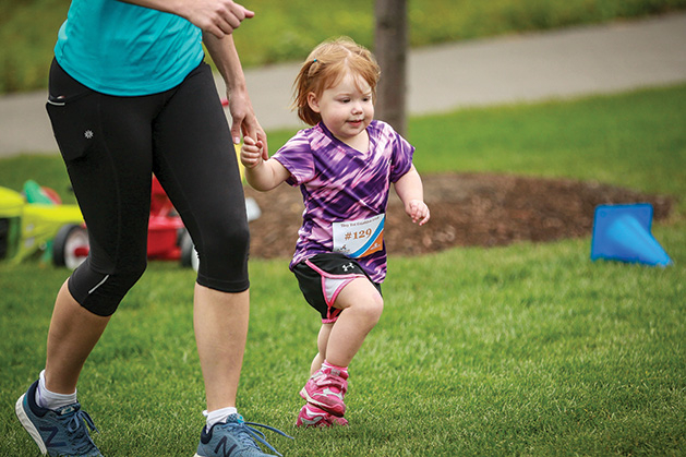 Woodbury Tiny Tot Triathlon