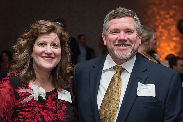 Two Woodbury Chamber Awards Gala attendees.