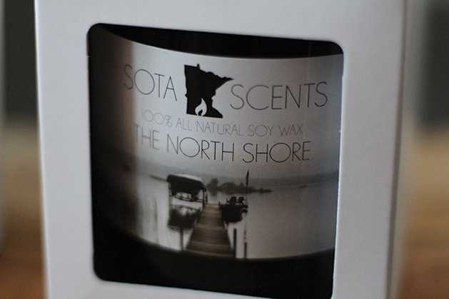Sota Scents candle