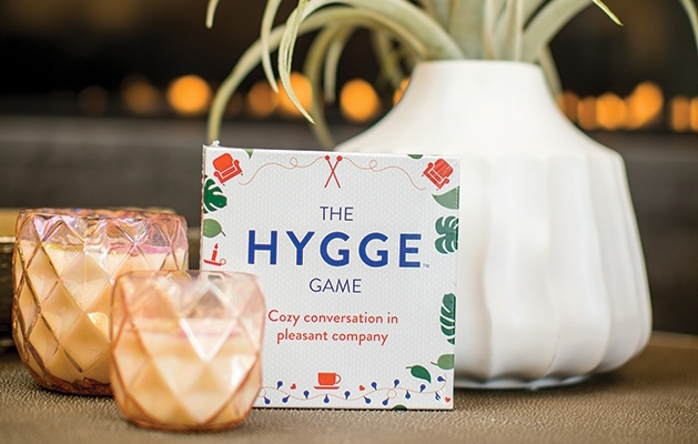Candles to help with hygge.
