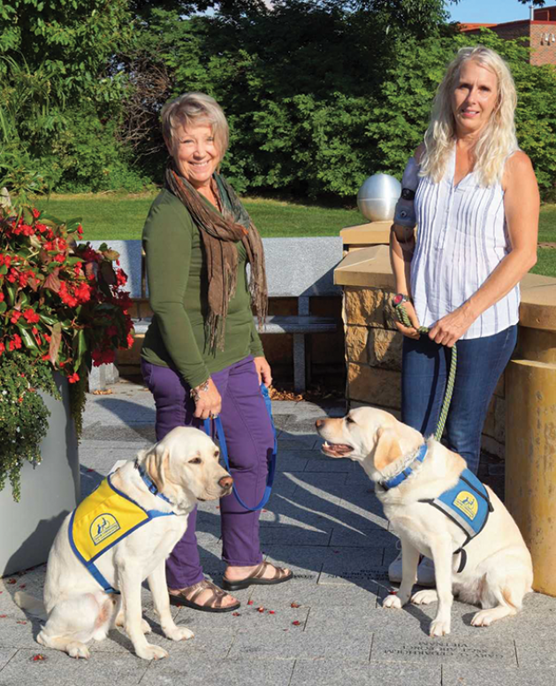 Woodbury residents raise puppies for Canine Companions for Independence