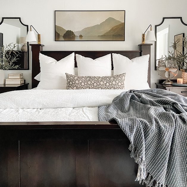 bedroom home styling