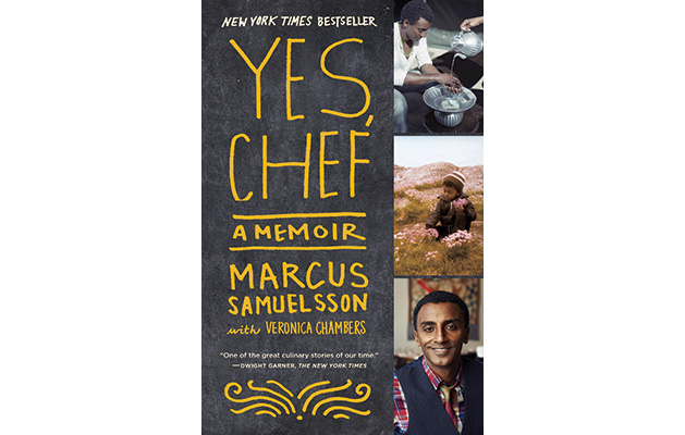 """The cover of """"Yes Chef"""" by Marcus Samuelsson"""