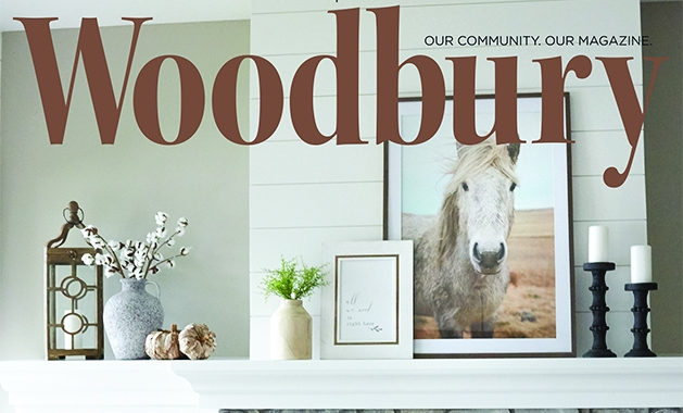 The cover of the October 2020 Woodbury Magazine