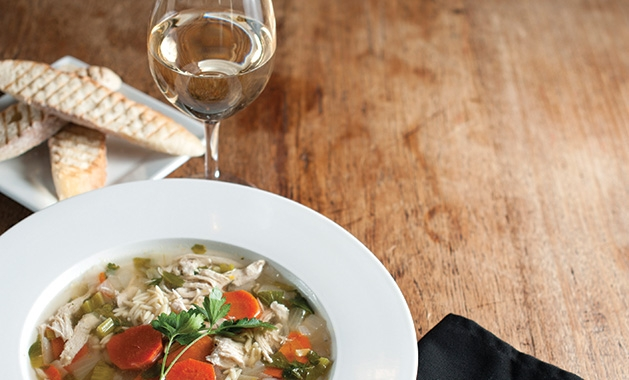 Chicken Orzo Soup, Angelina's Kitchen, soup recipes, chicken soup recipe