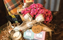 Sweet Peas Floral offers pre-built basket assortments for a ready-to-go Mother's Day gift.