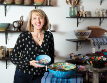 Shannon Enright, owner of Small Things Fair Trade