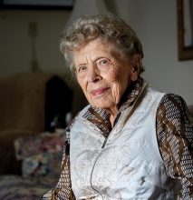 June Fremont, who served as a Marine during World War II