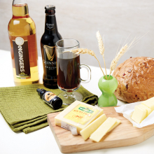 St. Patrick's Snacks, St. Patrick's Day, Guinness, 2 Gingers, Kerrygold