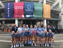 The Minnesota Thunder Academy U17 team at the Gothia World Youth Cup