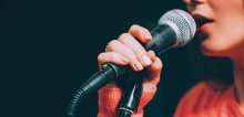 Using a microphone