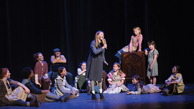 "A performance of ""Annie"" by Ashland Productions"