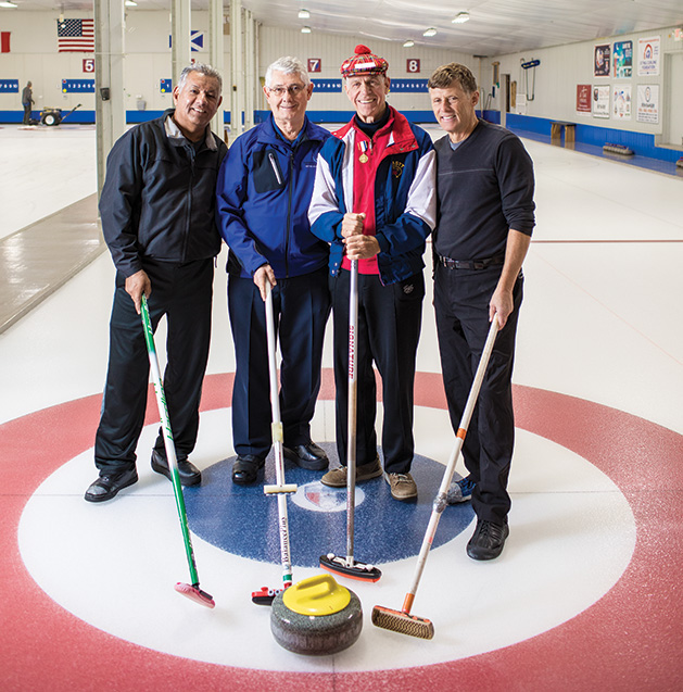 Members of the St. Croix Curling Center