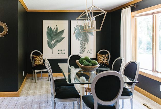 A dining room redesigned by Twigg + Lu